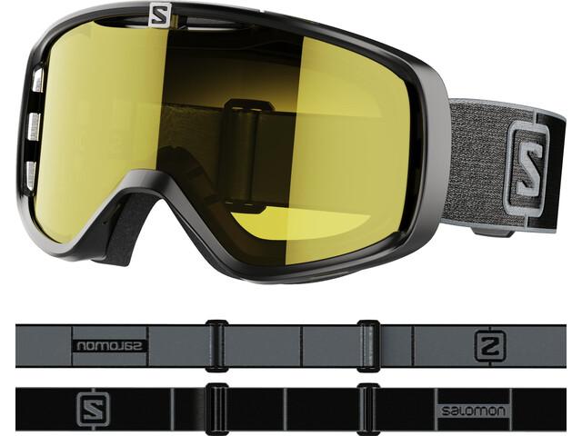 Salomon Aksium Access Lunettes De Protection, black/grey/low yellow